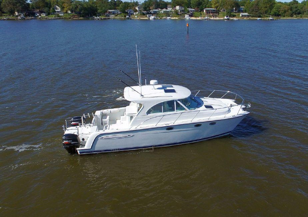 Used Glacier Bay 3480 Ocean Runner Power Catamaran Boat For Sale