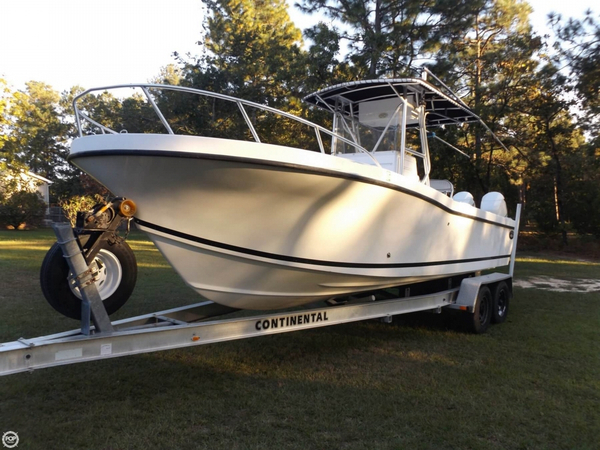 Used Dusky Marine 25 Center Console Fishing Boat For Sale