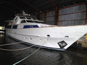 Used Chediek 32 Meter Pilothouse Boat For Sale