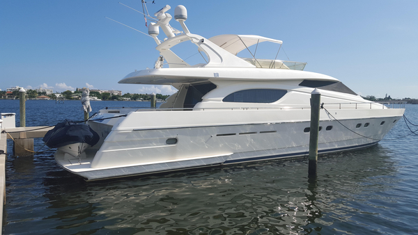 Used Ferretti Yachts 720 Flybridge Motor Yacht For Sale
