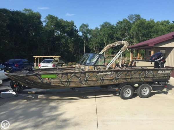 Used Sea Ark Procat 240 Aluminum Fishing Boat For Sale