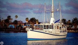 Used Custom 46 Diesel Duck Trawler Boat For Sale