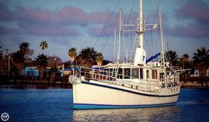 Used Custom 46 Diesel Duck Trawler Boat For Sale