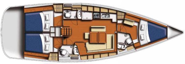 Used Beneteau Oceanis 43 Sloop Sailboat For Sale