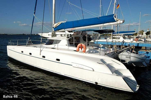 Used Fountaine Pajot Bahia 46 Cruiser Sailboat For Sale