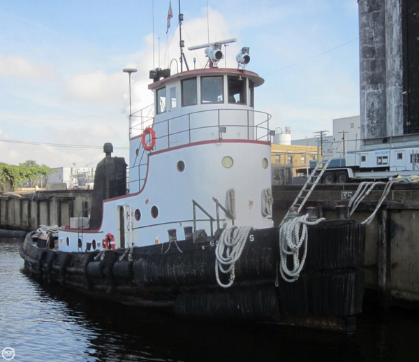 Used Rtc Shipbuilding 62 Tug Boat For Sale