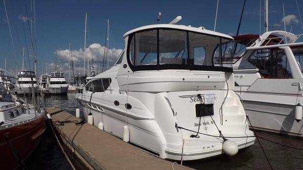 Used Sea Ray 40 Motor Yacht Aft Cabin Boat For Sale
