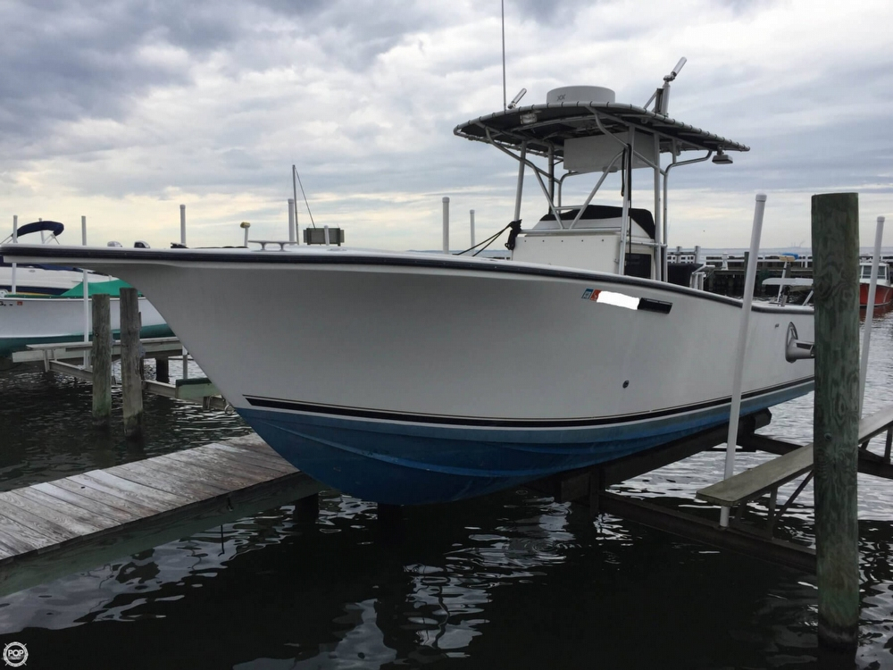 1995 used albemarle 262 center console center console for Used center console fishing boats for sale