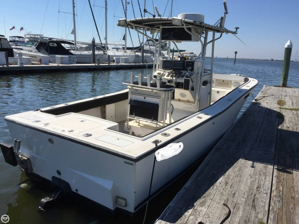 1995 used albemarle 262 center console center console for Center console fishing boats for sale