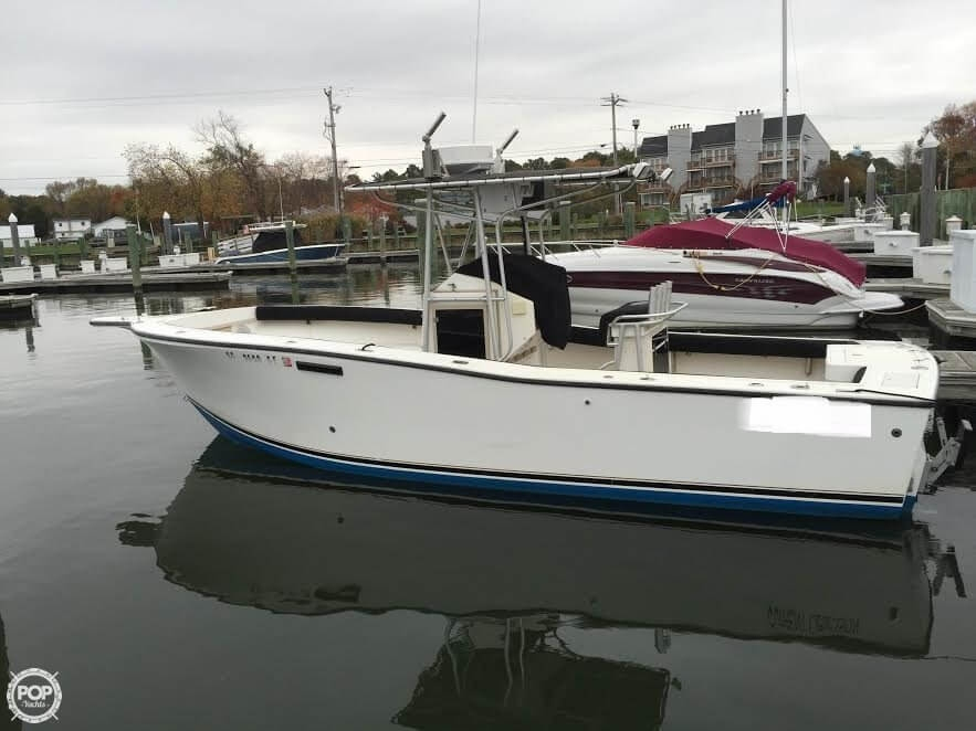 1995 used albemarle 262 center console center console for Used fishing boats for sale in md