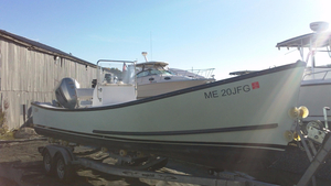 Used Eastern 24 Center Console Downeast Fishing Boat For Sale