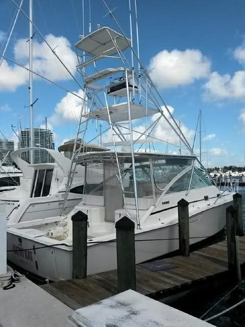 Used Cabo 35 Sports Fishing Boat For Sale