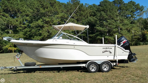 Used Sea Fox 236DC Pro Series Cruiser Boat For Sale