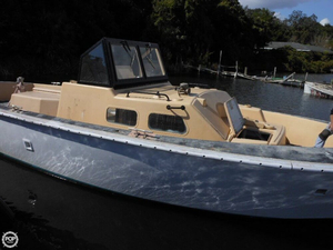 Used Watercraft America 36 Walkaround Fishing Boat For Sale