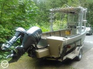 Used Westcoaster 22 Aluminum Fishing Boat For Sale