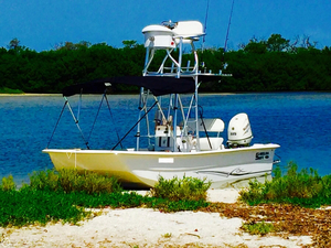 Used Carolina Skiff 2180 DLX Center Console Fishing Boat For Sale