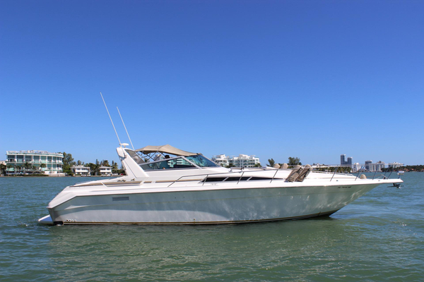 Used Sea Ray 420 Sundancer Cruiser Boat For Sale