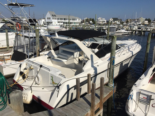 Used Silverton 34' Express Cruiser Boat For Sale