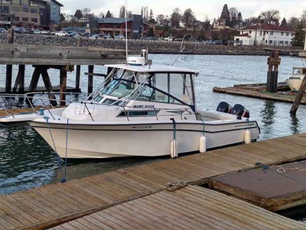 Used Grady White 300 Marlin Walkaround Fishing Boat For Sale