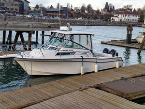 Used Grady White 300 Marlin Walkaround Fishing Boat For Sale