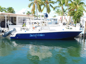 Used Sea Vee 340 open Center Console Fishing Boat For Sale