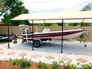 Used Dolphin Back Country Saltwater Fishing Boat For Sale