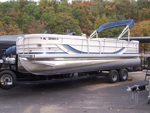 Used South Bay 925 C TT IO Pontoon Boat For Sale