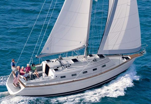 New Island Packet 370 Cruiser Sailboat For Sale