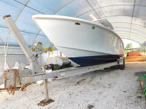 Used Sea Hunter 35 open Center Console Fishing Boat For Sale