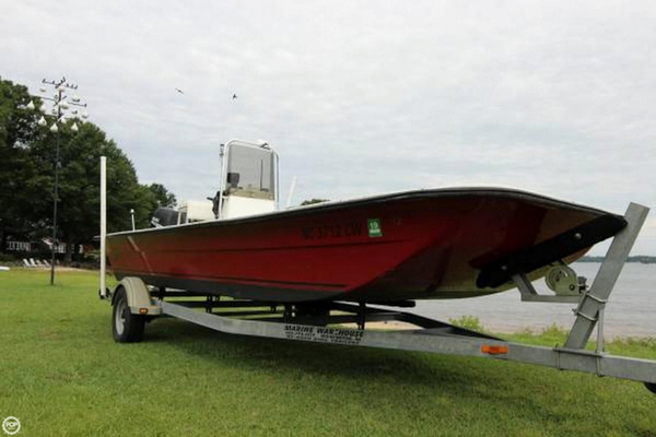 Used Carolina Skiff 2180 Skiff Fishing Boat For Sale