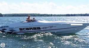 Used Scarab 29 High Performance Boat For Sale