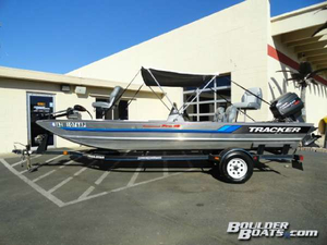 Used Tracker Tournament Pro 18 Freshwater Fishing Boat For Sale