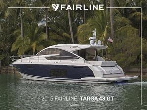 Used Fairline Targa 48 Gran Turismo Motor Yacht For Sale