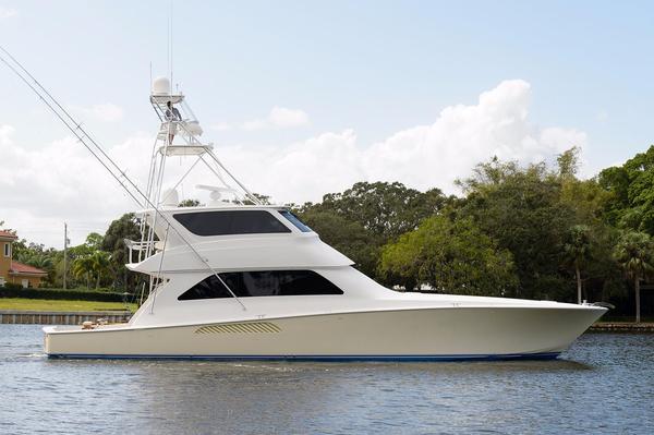 Used Viking Yachts Enclosed Flybridge Sports Fishing Boat For Sale