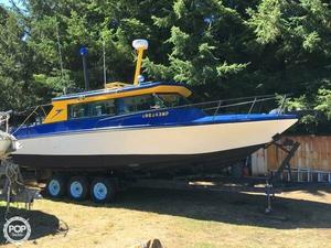 Used Fiberform 28 Pilothouse Boat For Sale