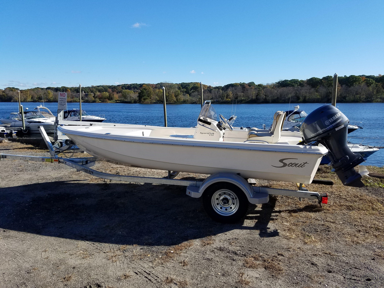 2017 New Scout Boats Sport Fish Center Console Fishing Boat For Sale - $15,995 - Shelton, CT ...