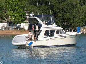 Used Tollycraft 34 Sport Sedan Sports Fishing Boat For Sale