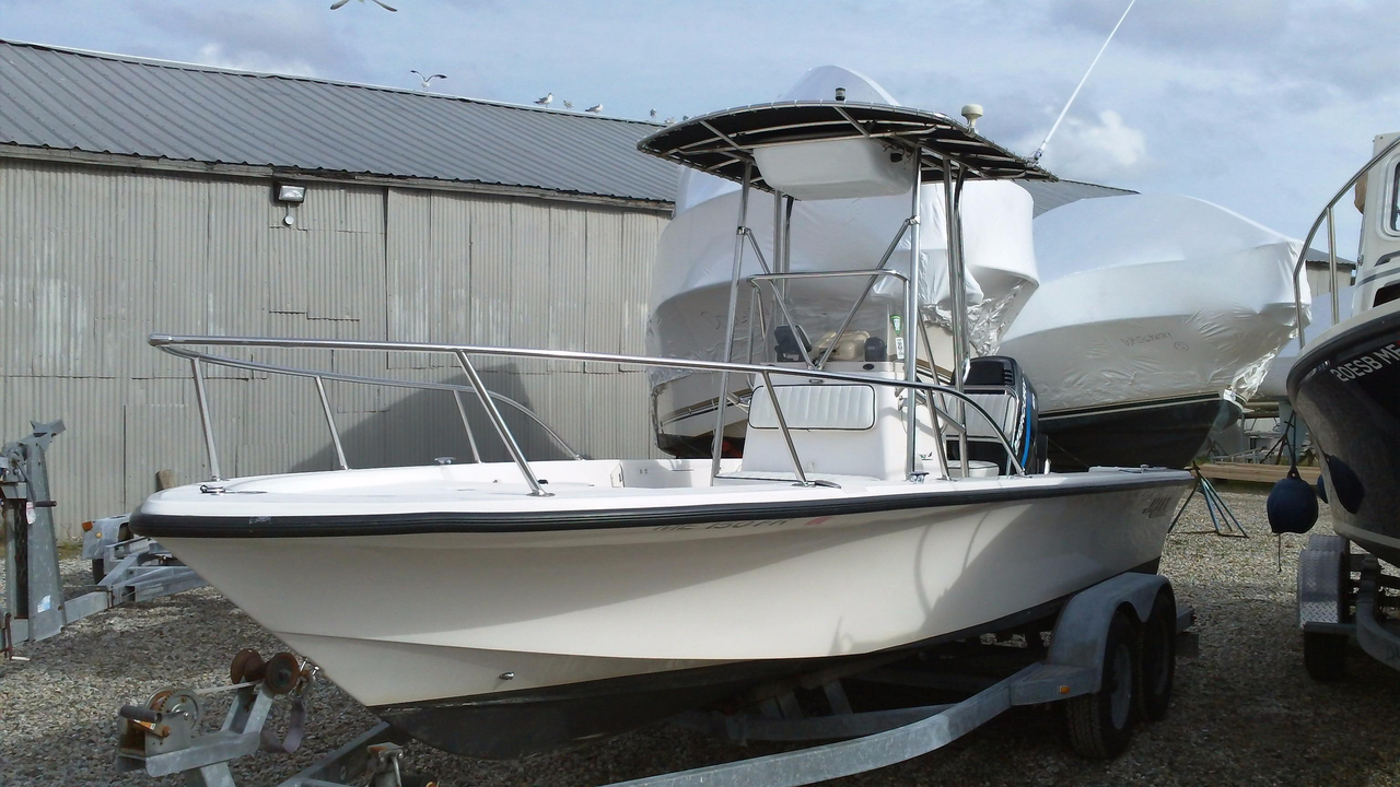 2002 used mako 22 center console center console fishing for Fishing boat dealers near me