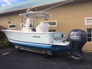 Used Regulator 25 Saltwater Fishing Boat For Sale