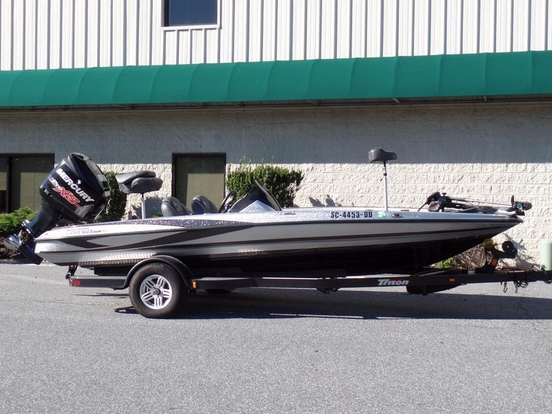 2016 used triton 18 trx18 trx bass boat for sale 38 488 for Bass fishing boats for sale