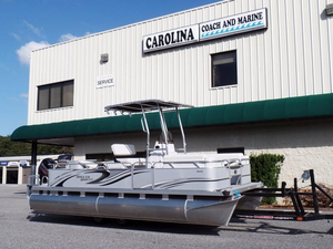 New Qwest Angler 820 FISH N CRUISE Pontoon Boat For Sale