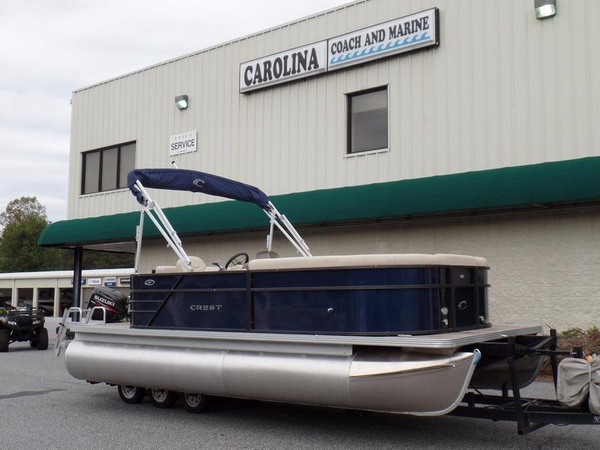 New Crest I 200 L Pontoon Boat For Sale