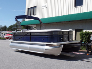 New Crest II 210 L Pontoon Boat For Sale