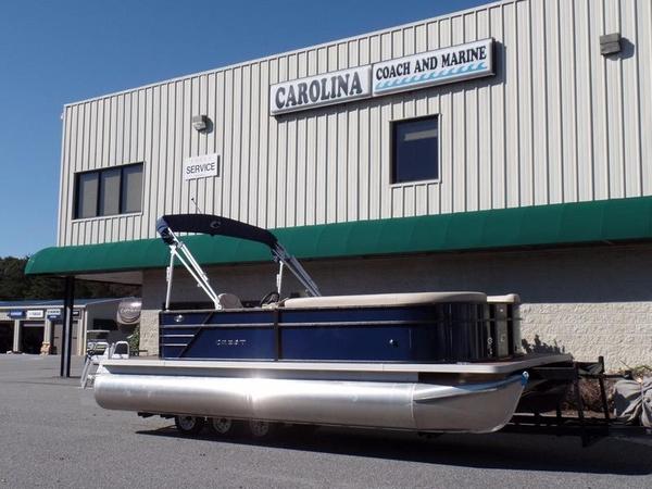 New Crest I 220 SLRD Pontoon Boat For Sale