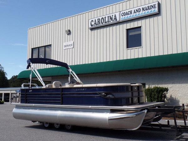 New Crest II Select 230 SLR2 Pontoon Boat For Sale