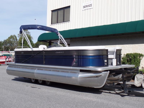 New Crest II 250 SL Pontoon Boat For Sale
