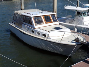 Used Albin Double Cabin Trawler Boat For Sale