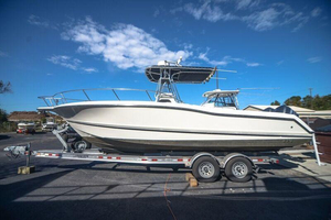 Used Triton 2895 CC Center Console Fishing Boat For Sale