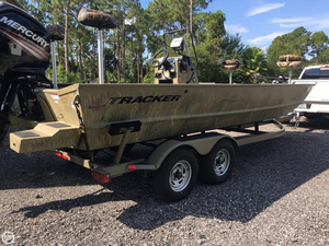 Used Tracker GRIZZLY 2072 MVX Sportsman Bass Boat For Sale