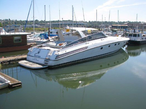 Used Baia 80 Panther Cruiser Boat For Sale